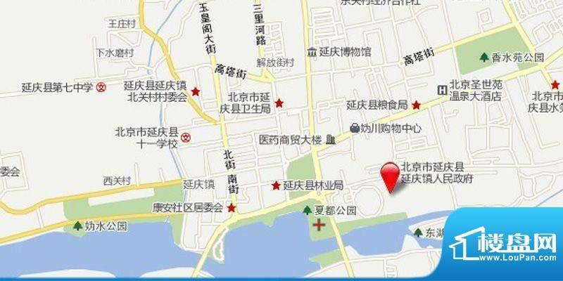 悦泽苑交通图