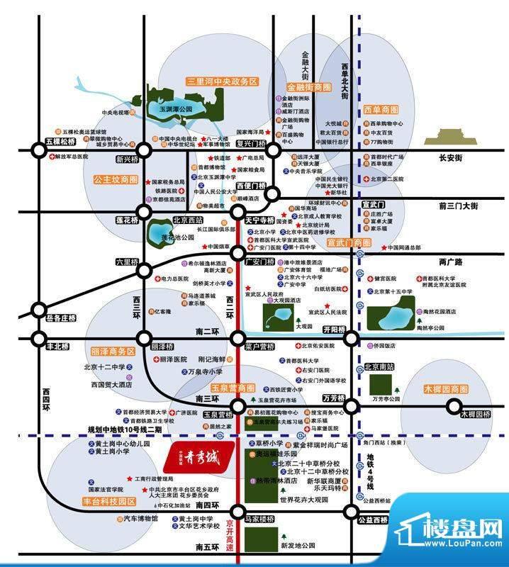 中国铁建青秀城实景图