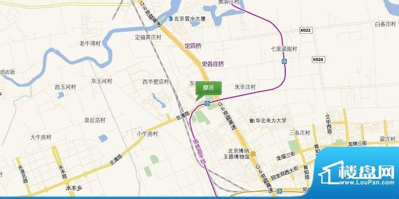 珠江·摩派国际交通图