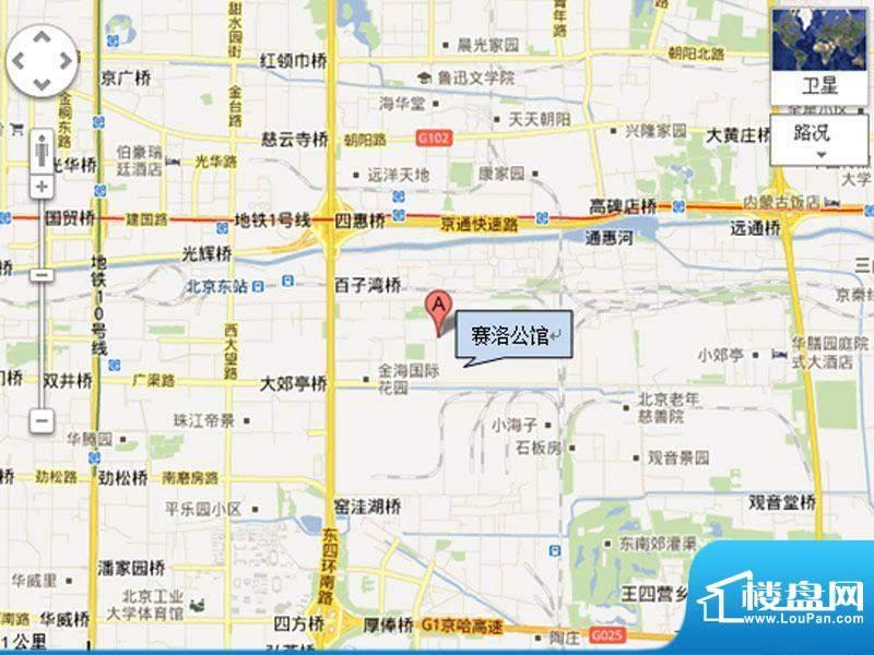 赛洛公馆交通图