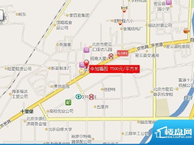 中加福园交通图