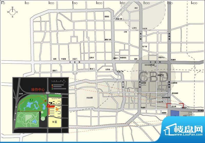 北京华侨城位置图