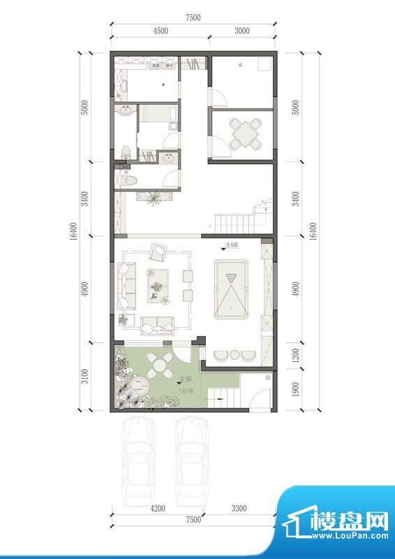 万通天竺新新家园·萨丁堡0424面积:287.00平米