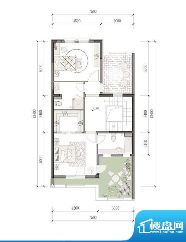 万通天竺新新家园·萨丁堡户型
