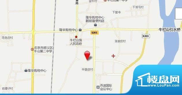 汇龙文苑位置图
