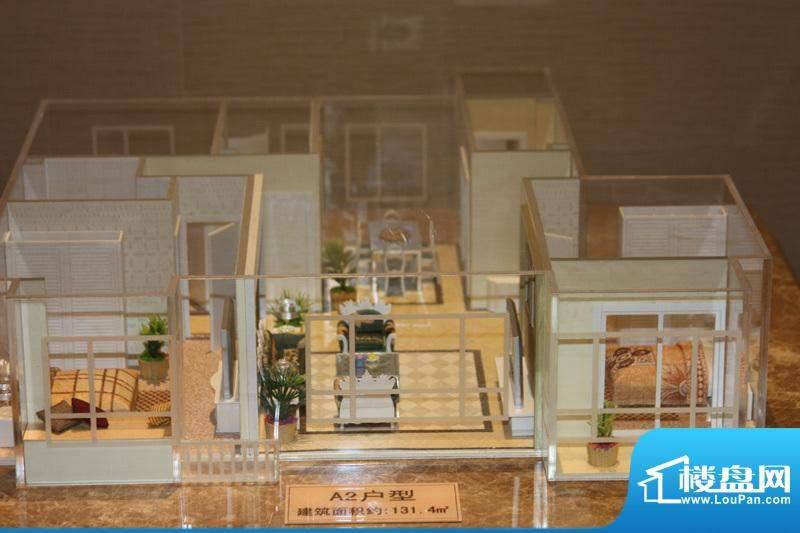 东亚马赛公馆户型模型实景图2010.06.28