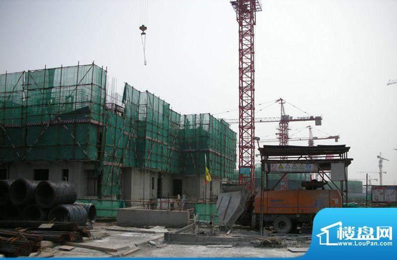中信悦海苑施工实景图2011.01