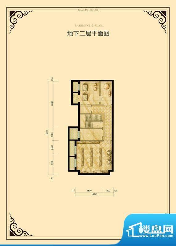 财富公馆·御河城堡h3地下二层面积:103.00平米