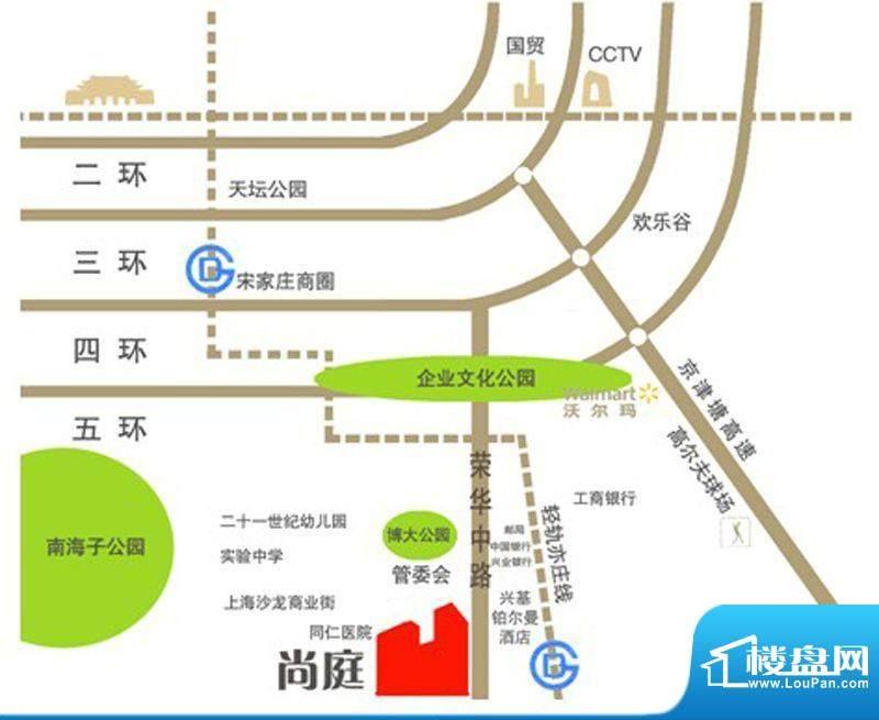 大道尚庭交通图