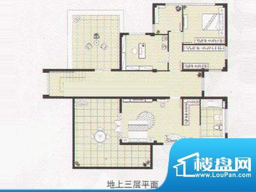 阳光花城双拼IE户型 地上三层 面积:518.00平米
