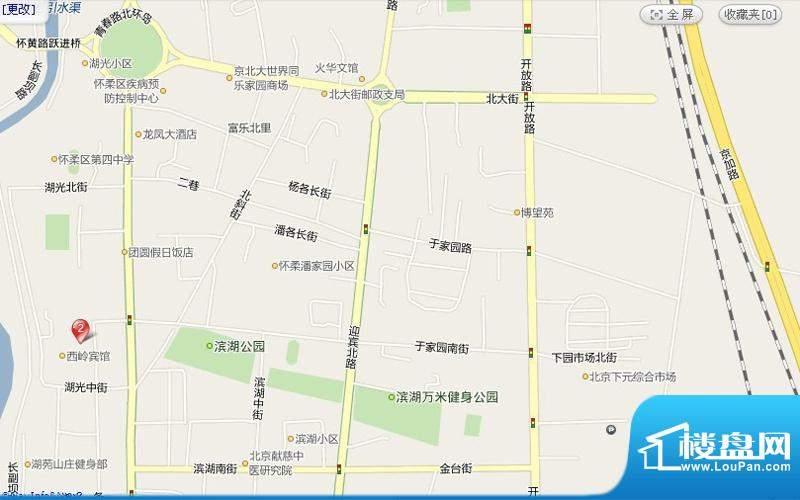 绿堤香廊交通图