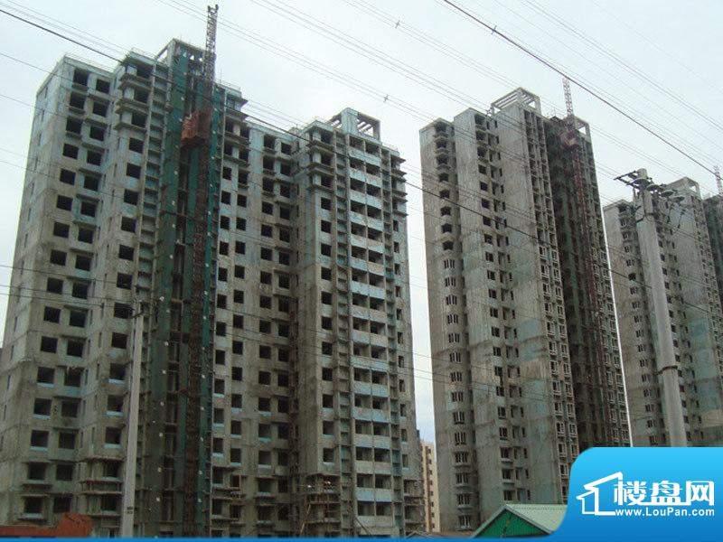 新城·康居映像楼体实景图2009.7