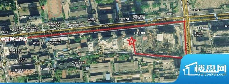 北京ONE位置图