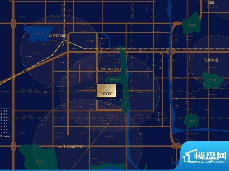 第三区观邸交通图