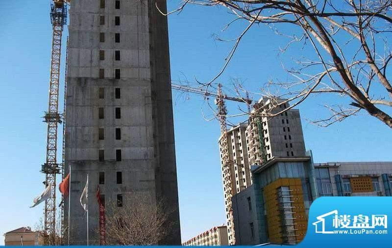 吉祥家园施工实景图2011.03
