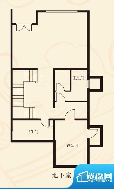 蝶泉花园联排地下室 面积:373.59平米