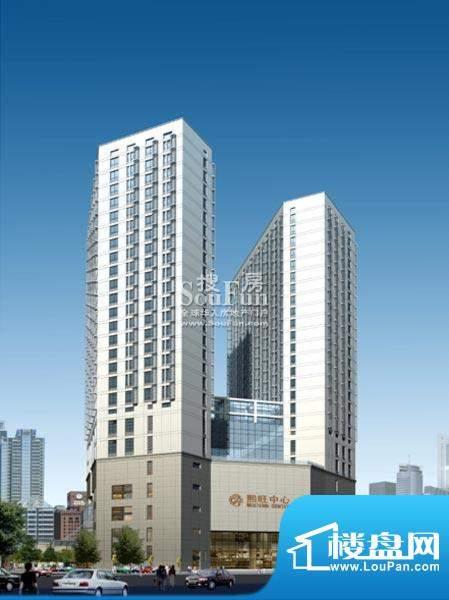 西贸国际·熙旺中心近观楼体外景图