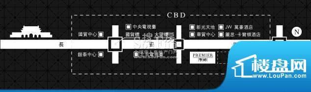 长安8号交通图