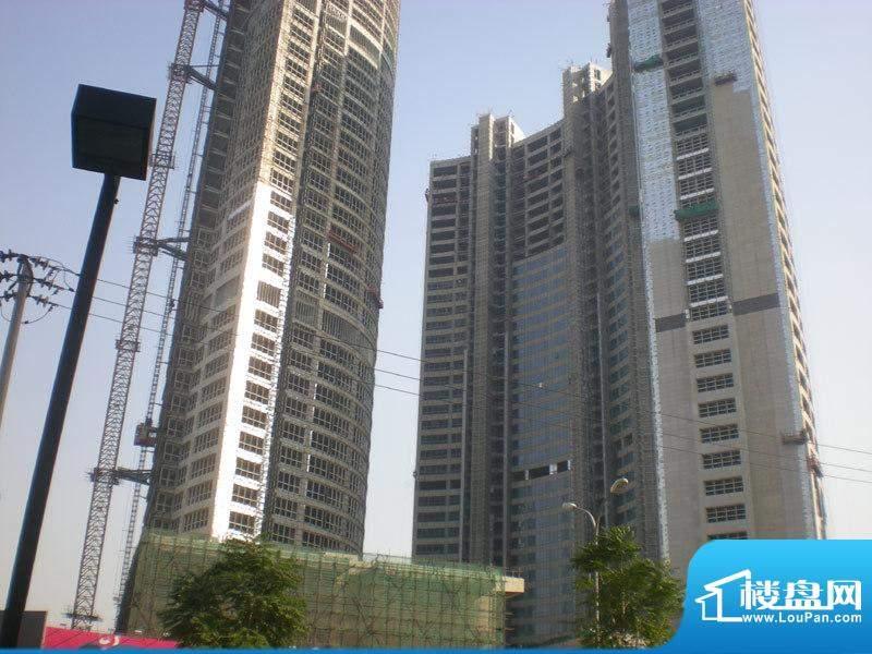 长安8号施工实景图2010.11
