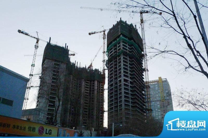 长安8号施工实景图2009.12