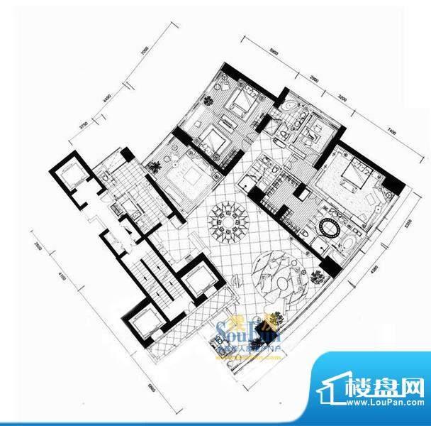 长安8号A7-39层(不含20层、37层面积:477.75平米