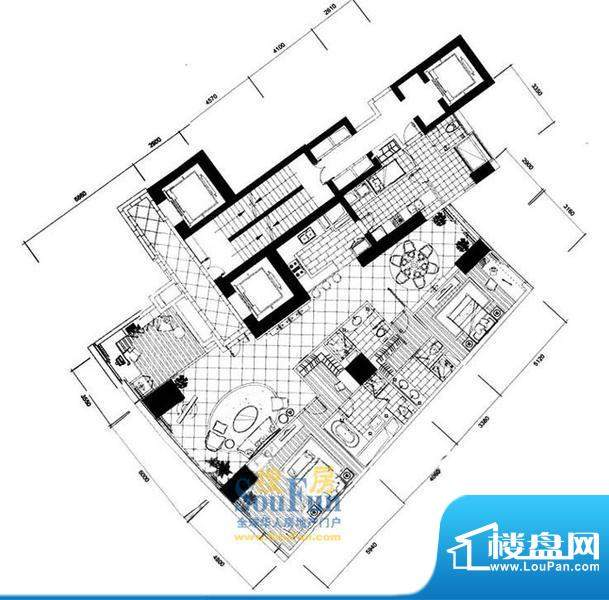 长安8号G7-39层(不含20层、37层面积:267.02平米