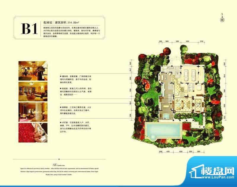 珠江·紫宸山k12-b1户型图