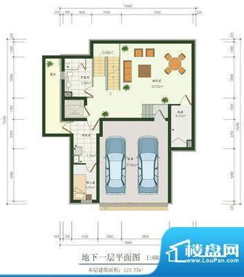 国悦府户型图 1室1厅1卫1厨面积:90.00平米