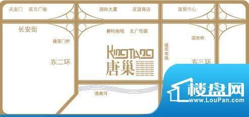 长安六号交通图