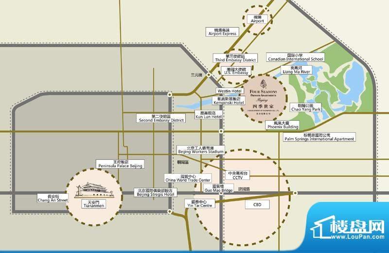 北京四季世家位置图