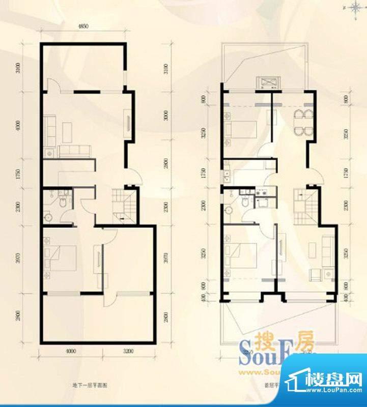 首创·新悦都C1户型图4室2厅2卫面积:172.00平米