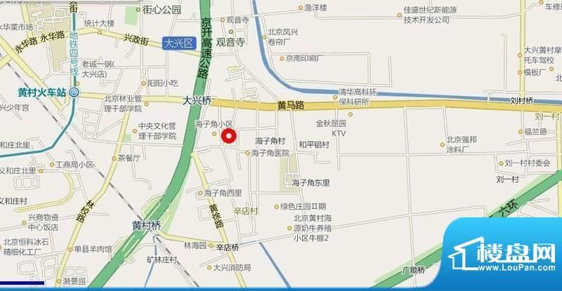 海悦公馆交通图