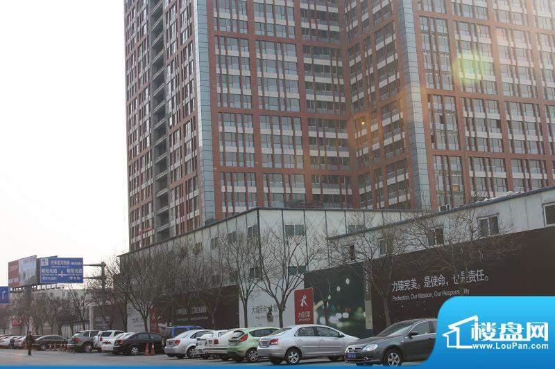大悦公寓施工实景图2010.2