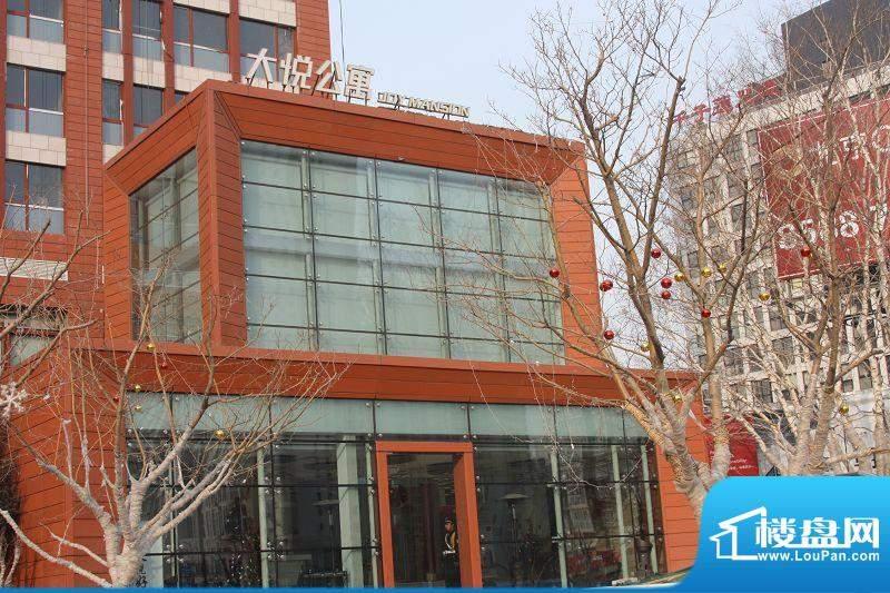 大悦公寓外立面实景图2010.2