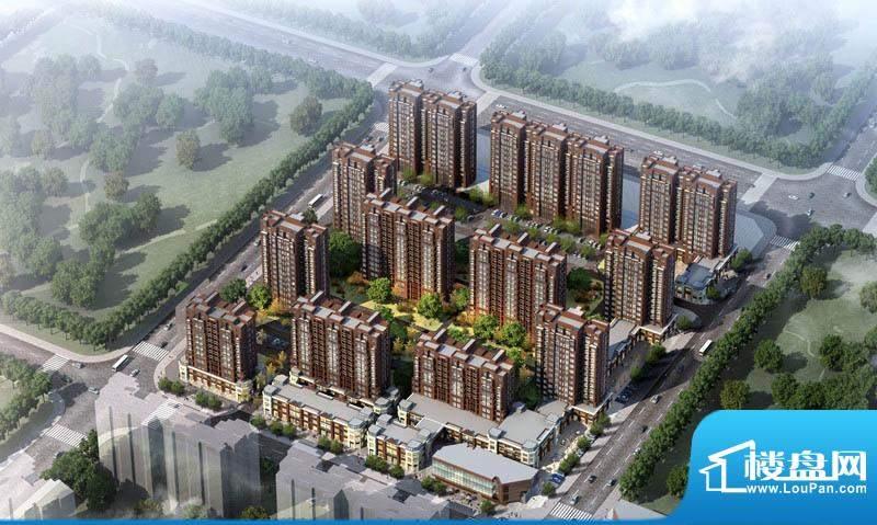 中建国际城效果图