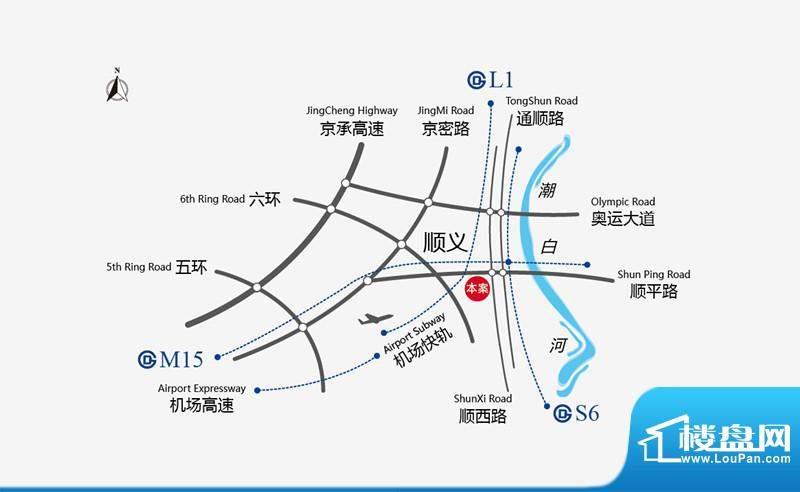 中建国际城位置图