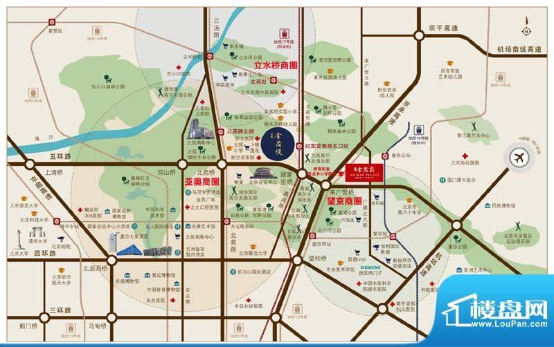 亚奥金茂悦交通图
