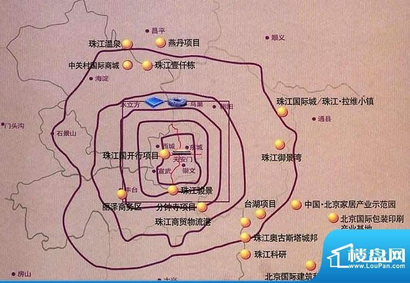 珠江奥古斯塔城邦实景图