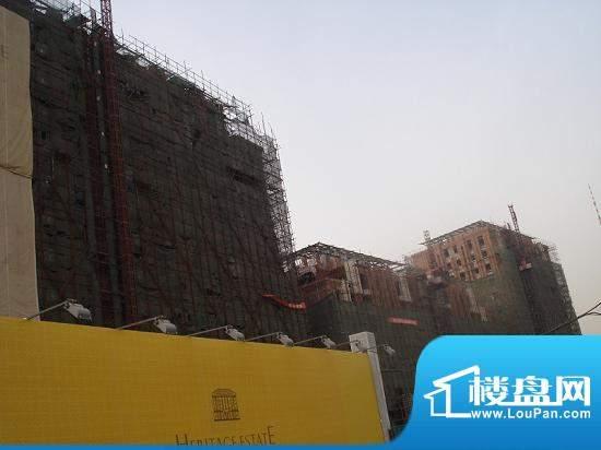 钓鱼台七号院实景图-楼盘实体2010-01