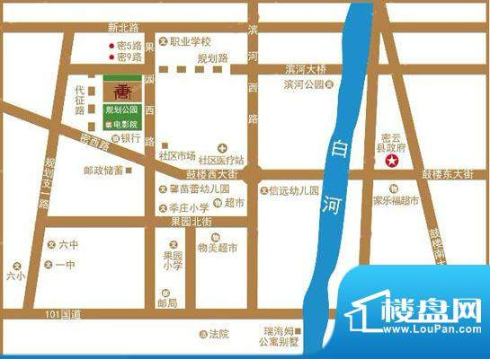 唐源交通图