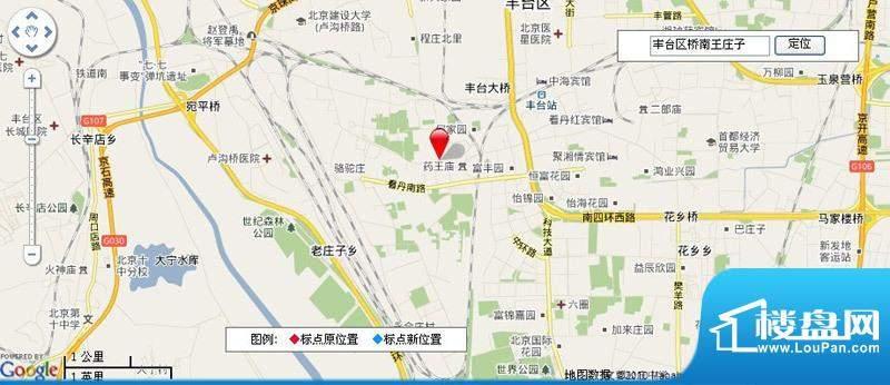 桥南王庄子居住项目用地效果图
