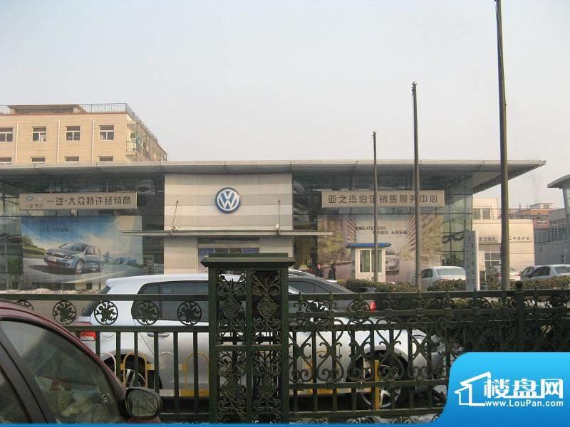 桥南王庄子居住项目用地周边配套外景图