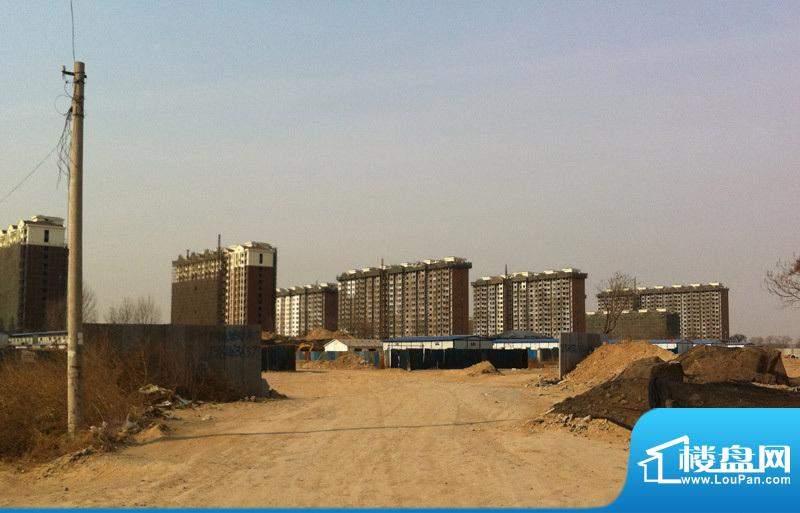 庞各庄镇定向安置房项目楼栋实景图2012