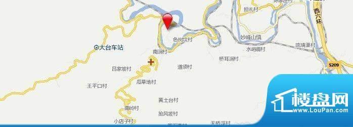 门头沟王平电厂安置房项目交通图