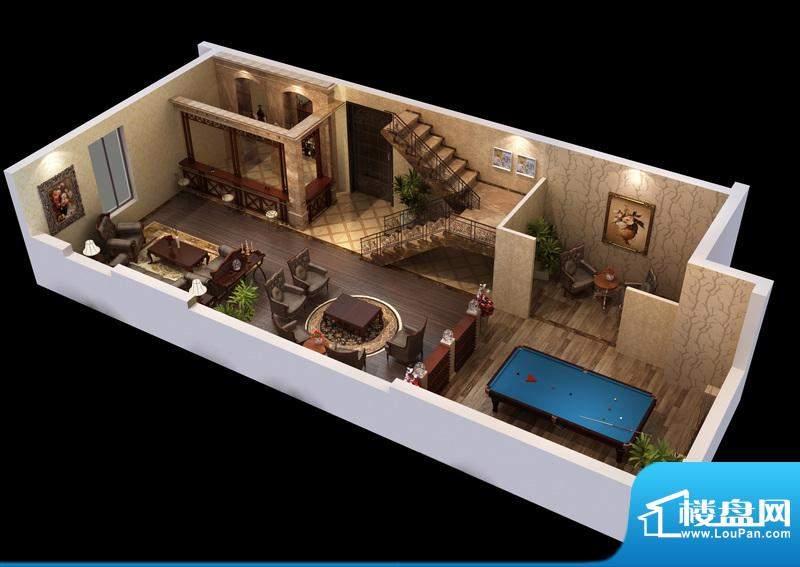 悦府d-3单元 3室2厅2卫1厨面积:124.21平米
