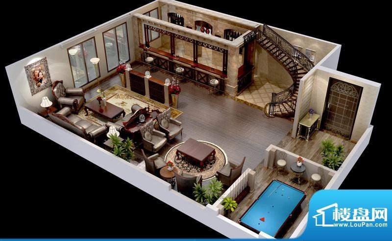 悦府A-1、2、3单元 2室1厅1卫1面积:79.29平米