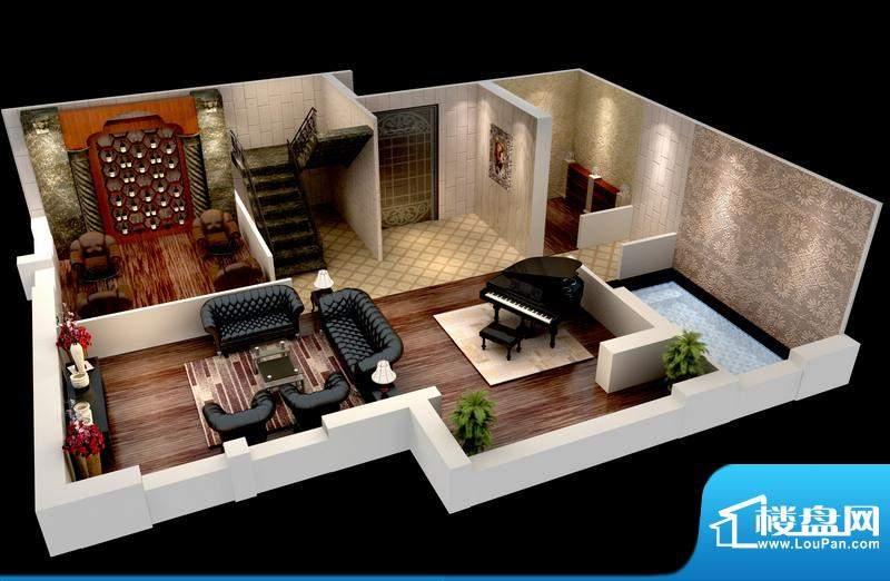 悦府F-1、2单元 3室2厅2卫1厨面积:138.73平米