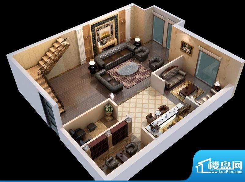 悦府g-3单元 3室2厅2卫1厨面积:116.74平米