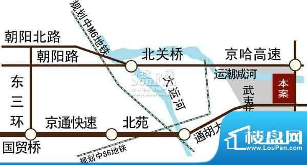 武夷·城市左岸交通图