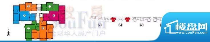 武夷·城市左岸38型标准层户型